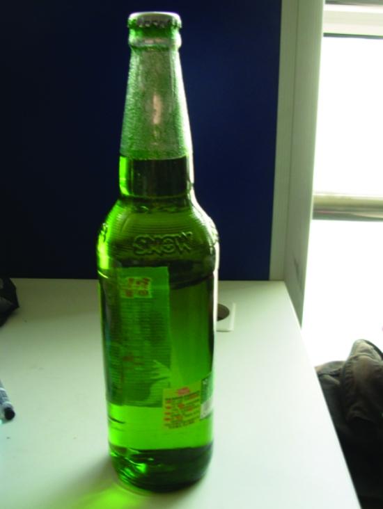 漂浮的瓶子素材