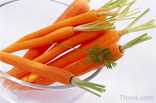营养丰富好处多 冬季美味胡萝卜