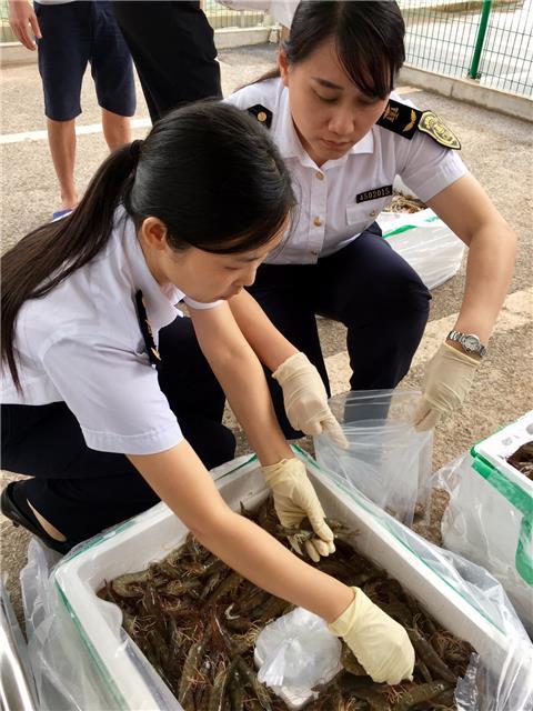 广西首个进境食用水生动物指定口岸正式启用