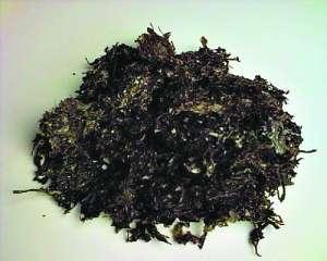 """广州市场疑现""""染色紫菜"""" 一泡清水变成粉红色"""
